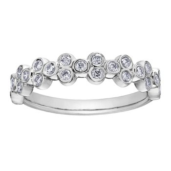 Ladies Stackable Diamond Band