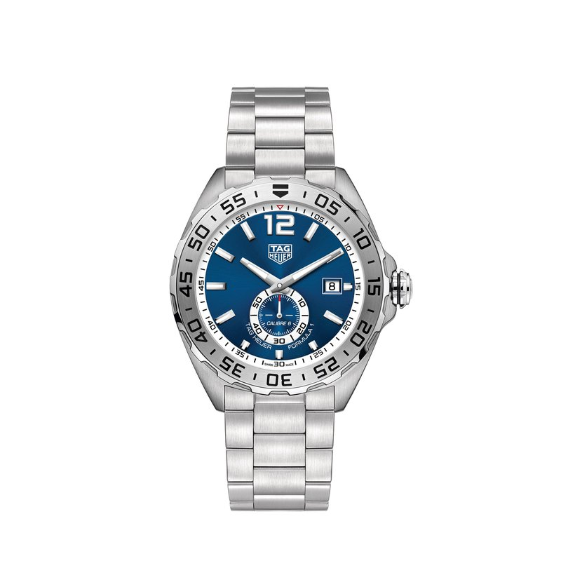 TAG Heuer Formula 1 43mm seconds subdial,