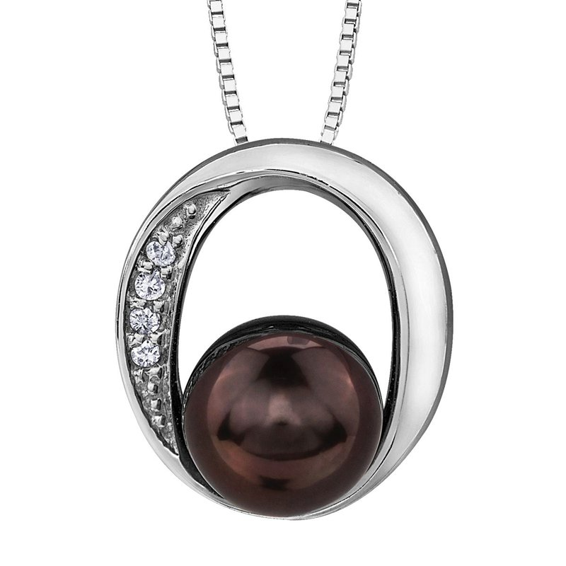 Ashley Black Pearl Necklace