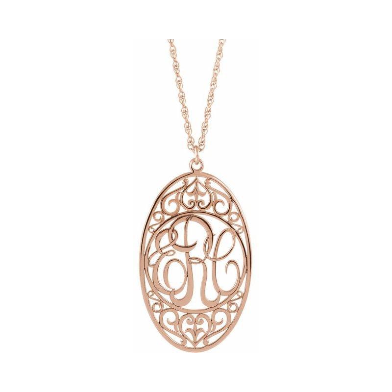 Ashley Monogram Necklace