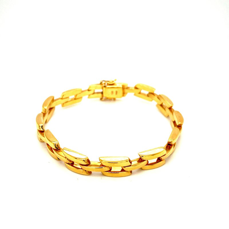 Ashley Yellow Gold Bracelet