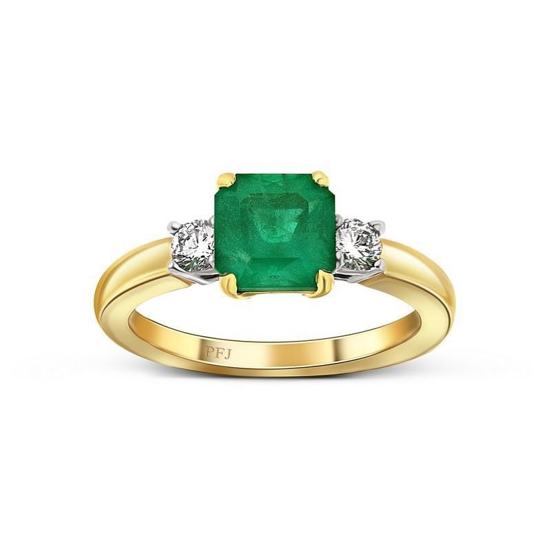 Ashley Emerald & Diamond ring.