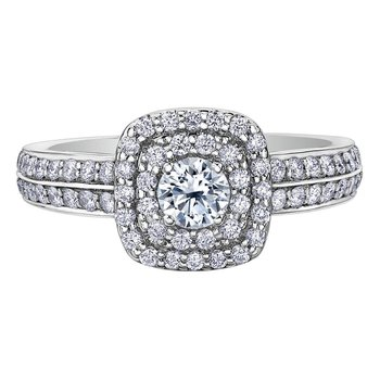 .77ct TW engagement Ring