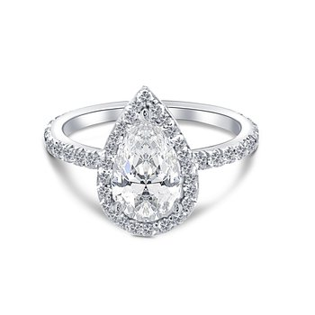 Ladies Diamond Engagment Ring