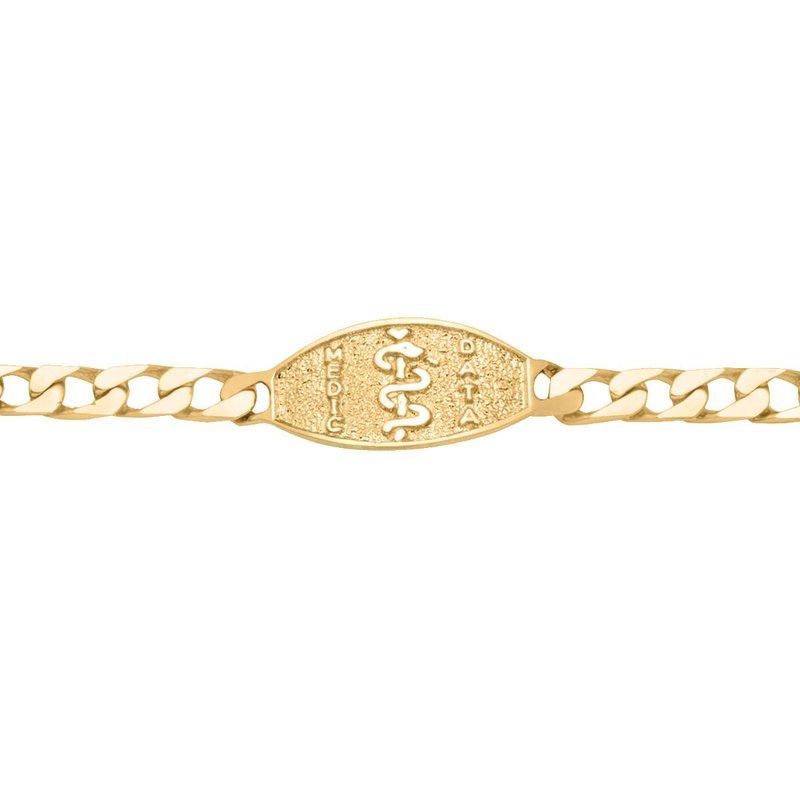 Ashley Men's Medical Data Bracelet