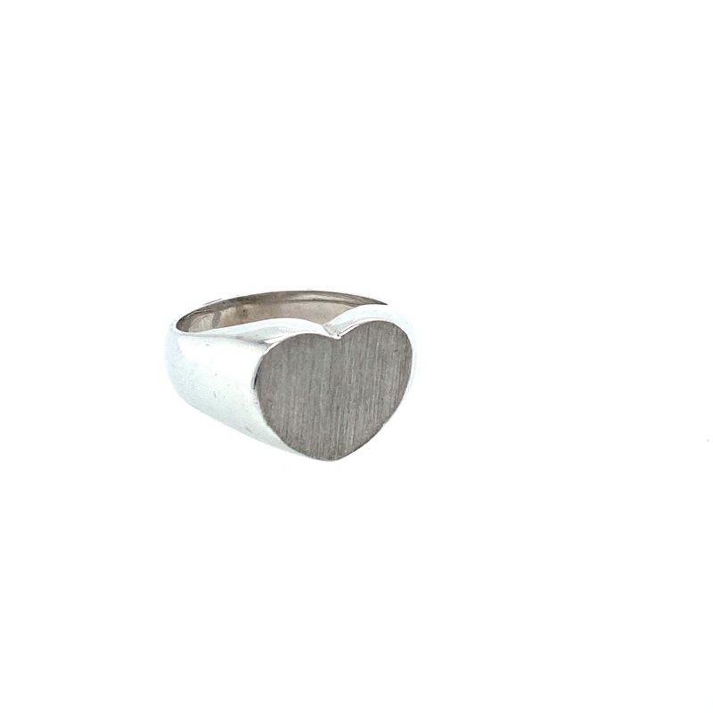 Ashley Heart Signet Ring