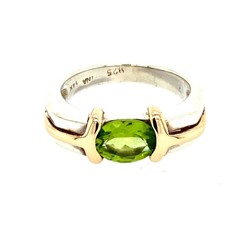 Ashley Peridot Ring