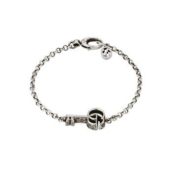 Double G key bracelet