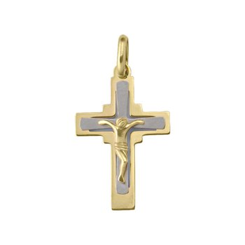 Two Tone Crucifix