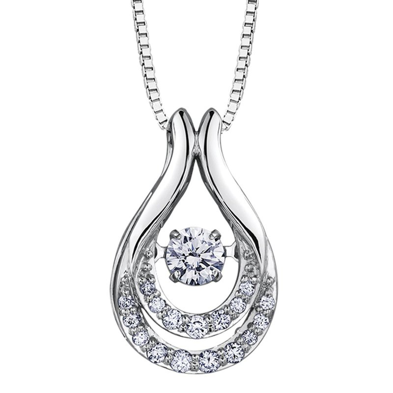 Ashley Diamond Pulse Necklace