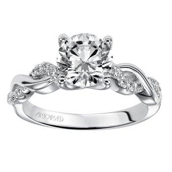 ArtCarved Ladies Engagement Ring