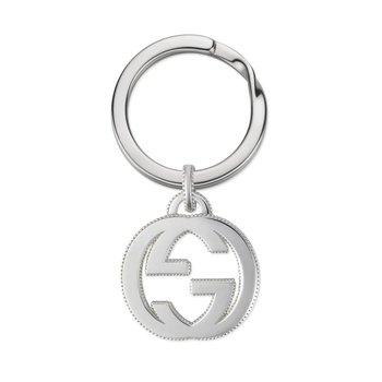 Interlocking G Key Chain