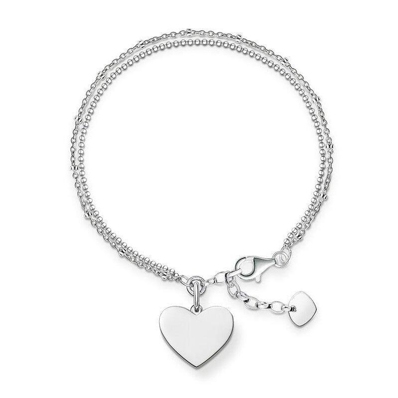 Thomas Sabo Silver Heart Necklace