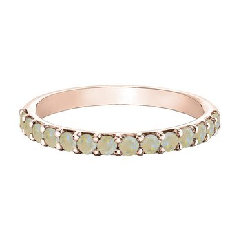 Stackable Opal Ring