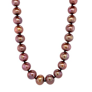 Fresh Water Chocolate Pearl Strand