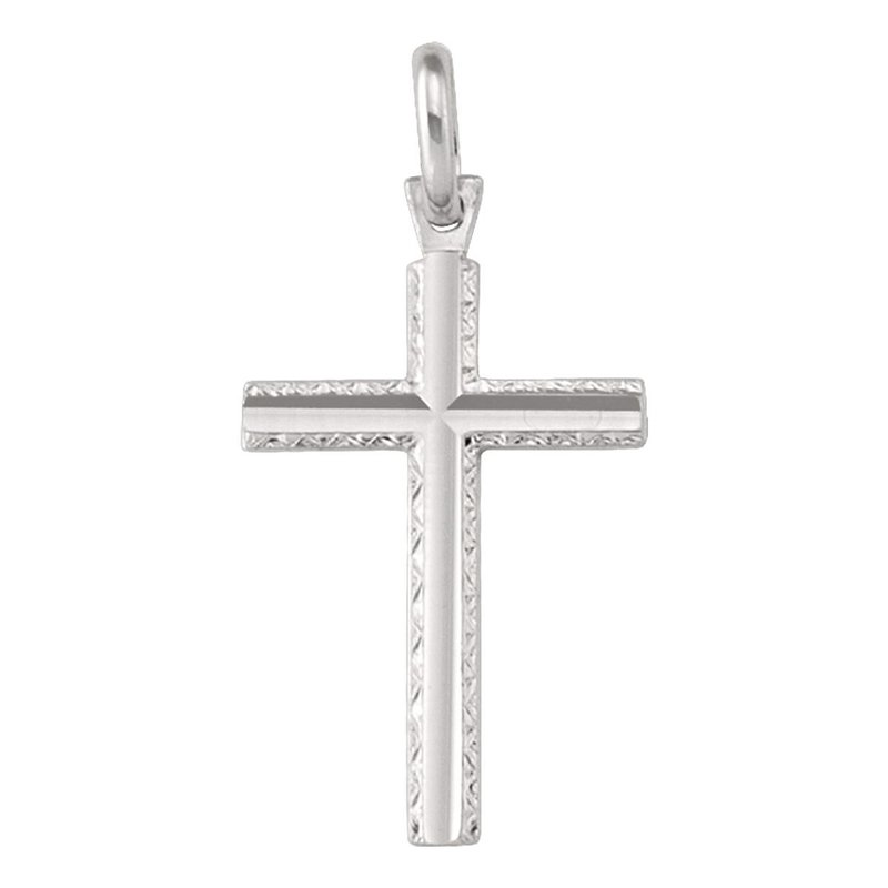 Ashley White Gold Cross