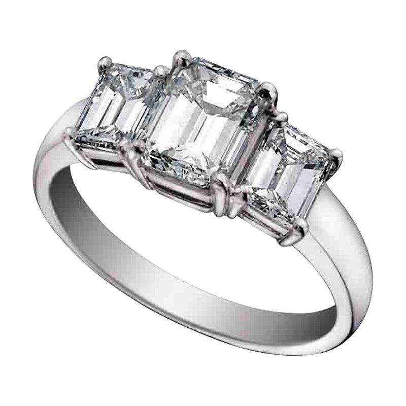 Ashley Three Stone Engagement Ring