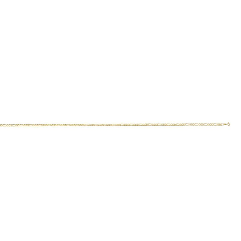 """Ashley 1.2mm Figaro Chain In 10kt Gold - 16"""""""