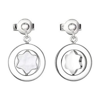 Star Silver & Mother-of-Pearl Earrings