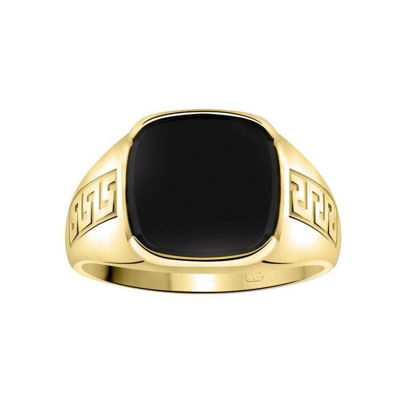 Ashley Gents black onyx ring.