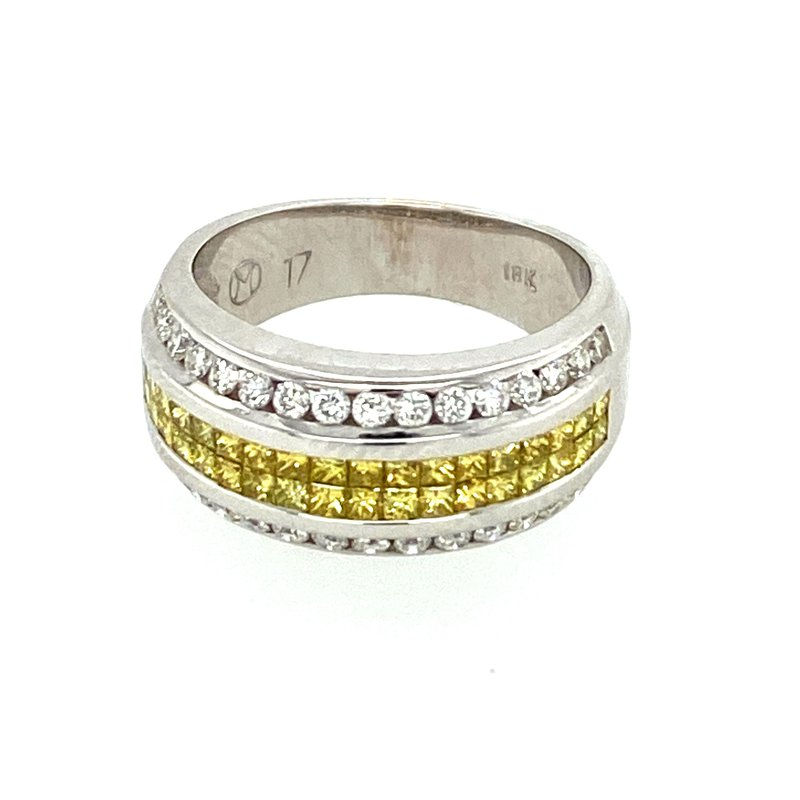Ashley Ladies Yellow Diamond Ring