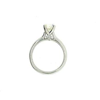 Ideal Cut 1.33 Carat Diamond Engagement Ring