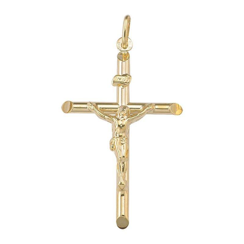 Ashley Yellow Gold Crucifix