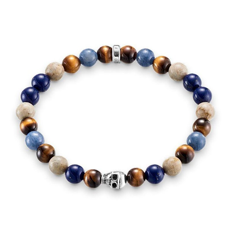 Thomas Sabo Multi-Coloured Beaded Bracelet