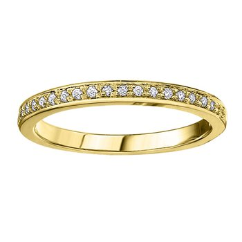 Ladies Stackable Wedding Band