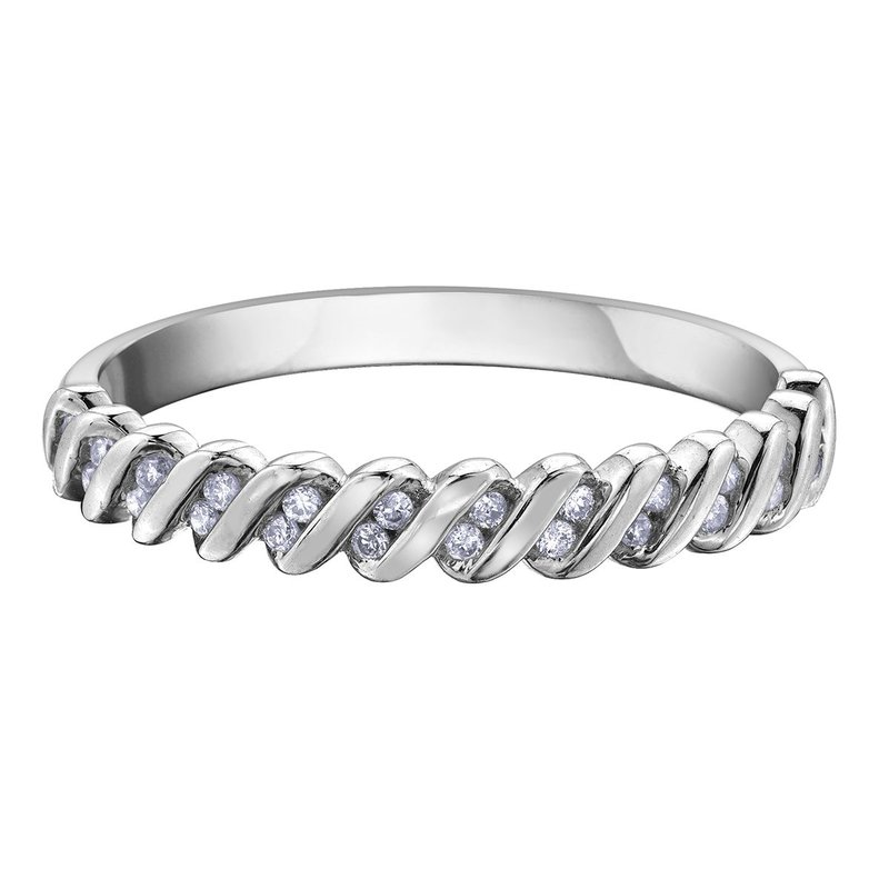 Ashley Ladies Stackable Diamond Band