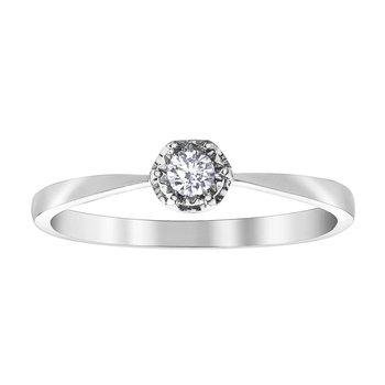 Illuminaire Diamond Set Ring