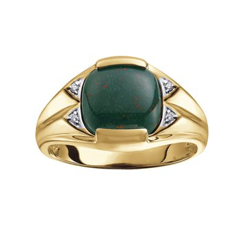 Men's Bloodstone Ring