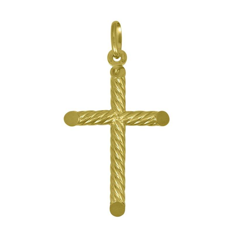 Ashley Yellow Gold Cross