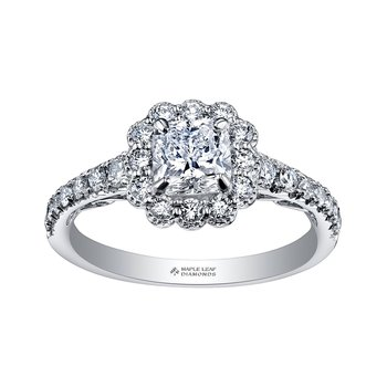 Tides of Love Engagement Ring
