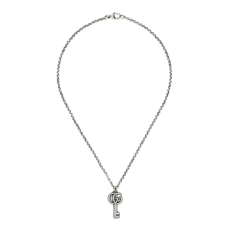 Gucci Double G key necklace