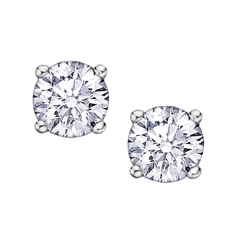 I Am Canadian .10ct. Diamond Stud Earrings