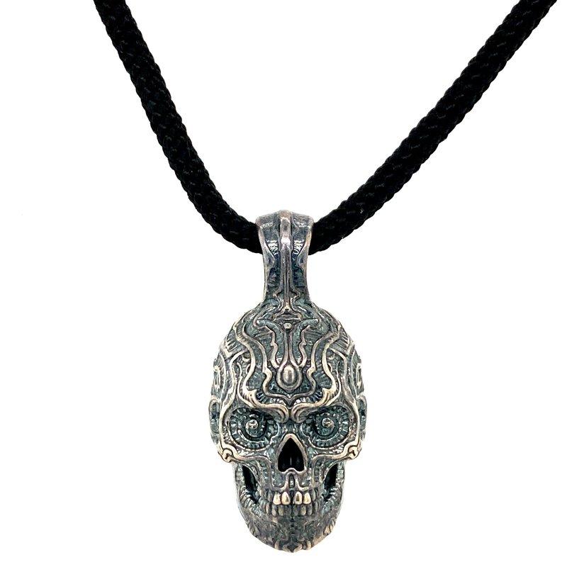 William Henry Renegade Skull Pendant