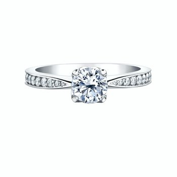 Elements of Love Engagement Ring