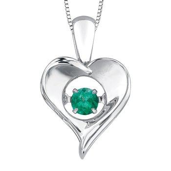 Emerald Pulse Necklace