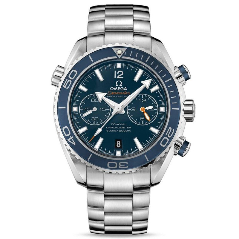 OMEGA SEAMASTER PLANET OCEAN 600M OMEGA CO-AXIAL CHRONOGRAPH 45.5 MM