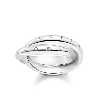 Forever Together Silver Ring