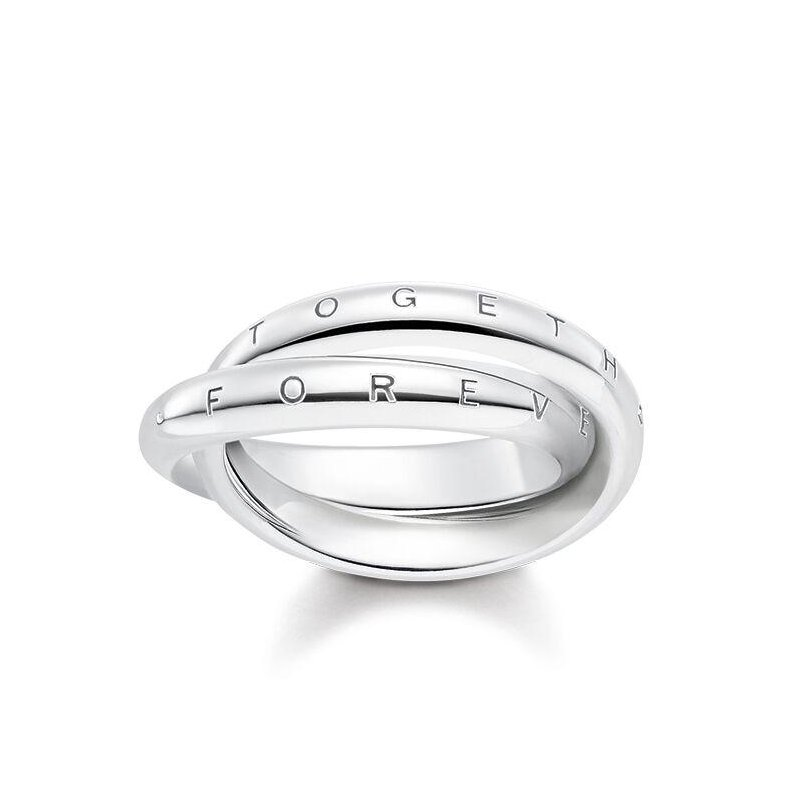 Thomas Sabo Forever Together Silver Ring