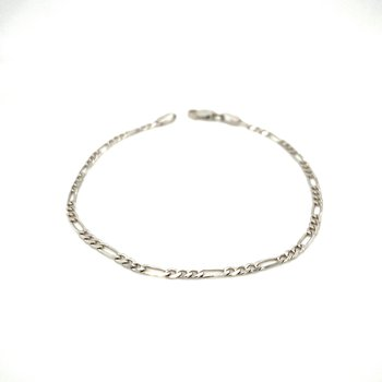 Ladies White Gold Bracelet