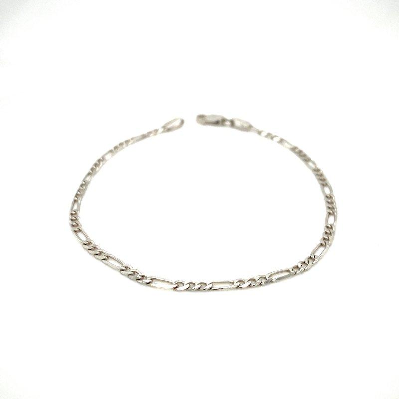 Ashley Ladies White Gold Bracelet
