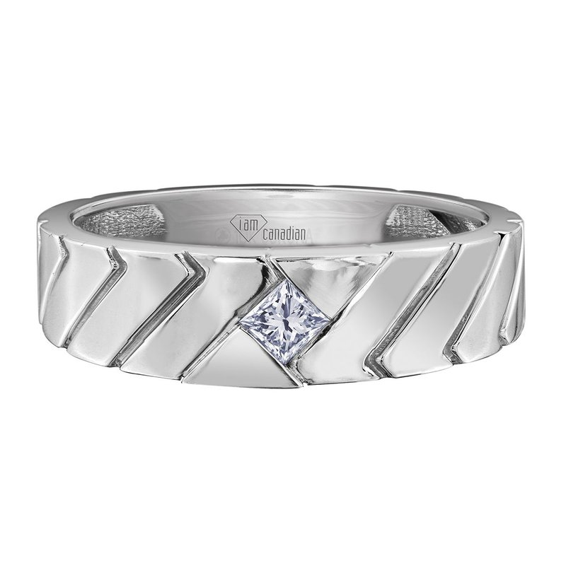 I Am Canadian Men's Diamond ring