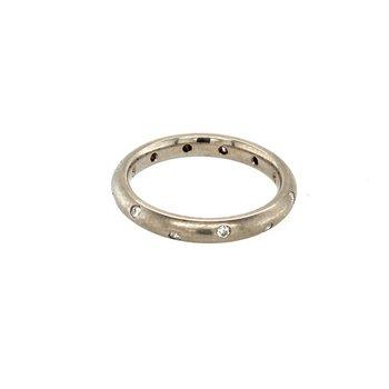 Gypsy Set Diamond Ring