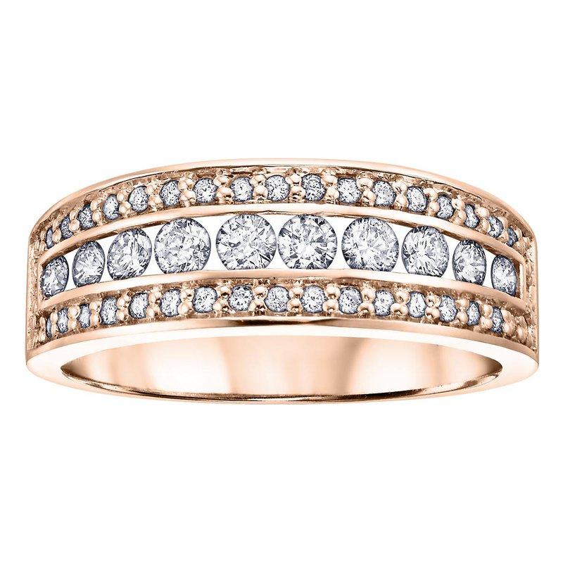 Ashley Rose Gold Diamond Ring