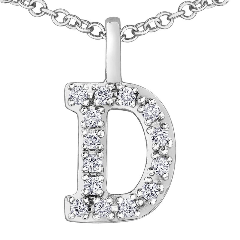Ashley Initial D Necklace