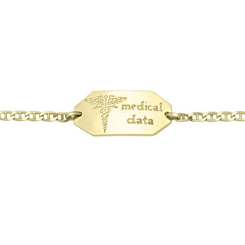 Ashley Ladies Medical Data Bracelet