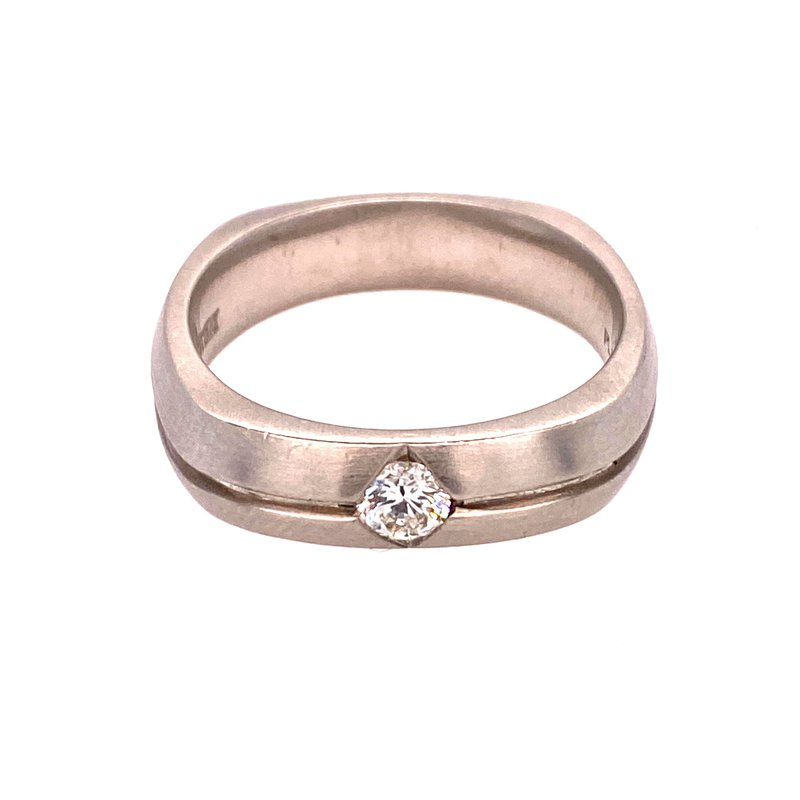 Ashley Platinum Men's Ring